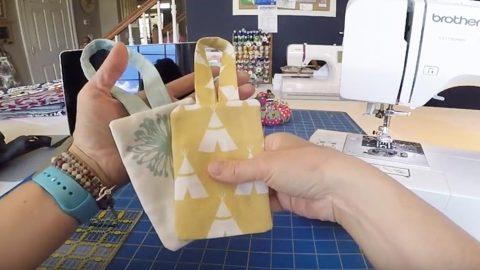 easy to make diy luggage tags
