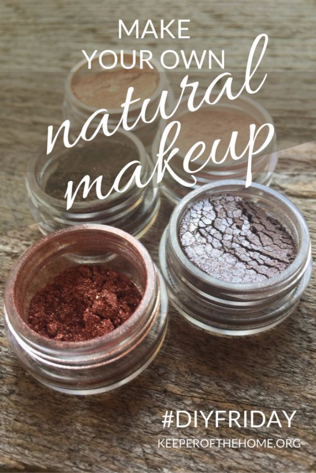 DIY Beauty Hacks - Make Your Own Natural Make Up - Cool Tips for Makeup, Hair and Nails - Step by Step Tutorials for Fixing Broken Makeup, Eye Shadow, Mascara, Foundation - Quick Beauty Ideas for Best Looks in A Hurry #beautyhacks #makeup