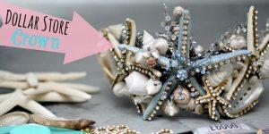 DIY Mermaid Shell Tiara