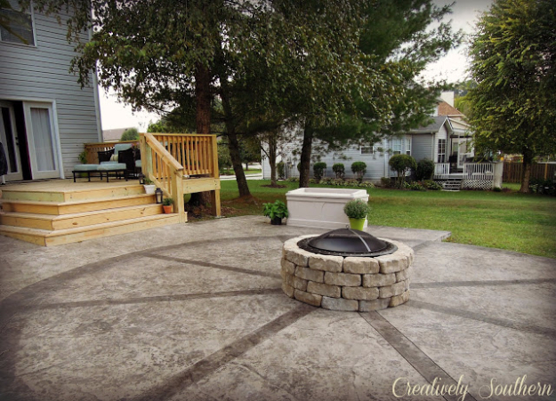 31 DIY Outdoor Fireplace and Firepit Ideas - DIY Joy - photo#26