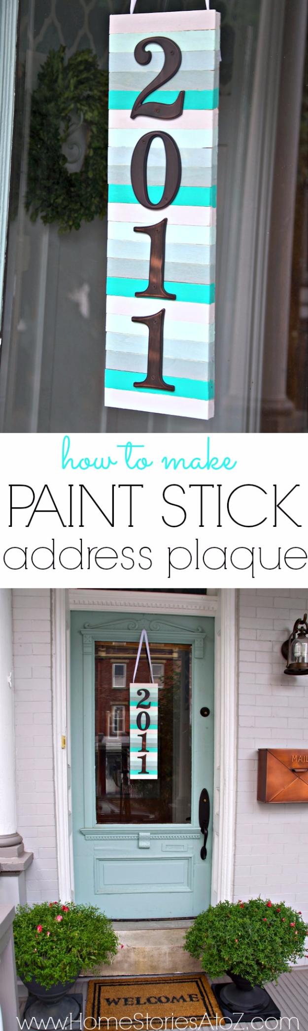 31 Diy Paint Stick Projects