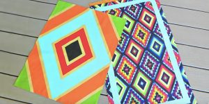 Watch How He Paints These Fabulous Rugs (Brilliant!)