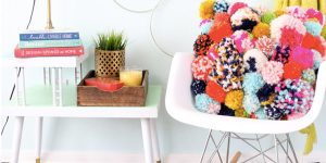 She Brightens Up Her Decor With These Unbelievably Fabulous Pom Pom Pillows!