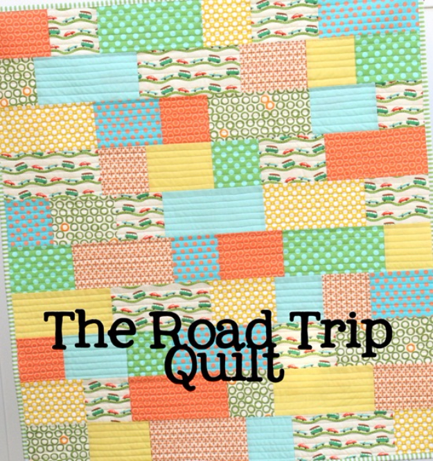 Best Quilting Projects for DIY Gifts - Road Trip Quilt - Things You Can Quilt and Sew for Friends, Family and Christmas Gift Ideas - Easy and Quick Quilting Patterns for Presents To Give At Holidays, Birthdays and Baby Gifts. Step by Step Tutorials and Instructions