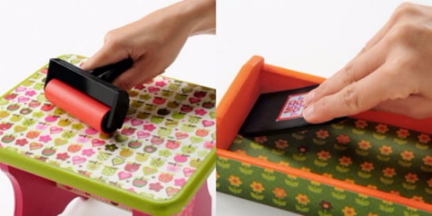 DIY Crafting Hacks - Roll Out Mod Podge Bubbles - Easy Crafting Ideas for Quick DIY Projects - Awesome Creative, Crafty Ways for Dollar Store, Organizing, Yarn, Scissors and Pom Poms