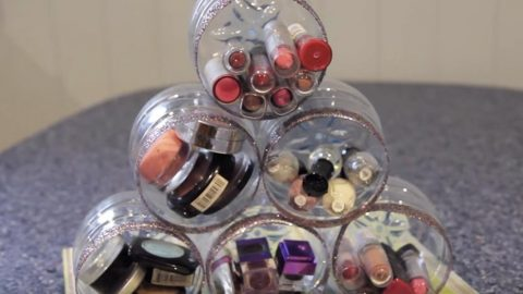 She Recycles Bottles For A Brilliant Organizing Purpose (Easy!)   DIY Joy Projects and Crafts Ideas