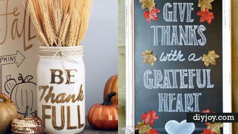 34 DIY Thanksgiving Decor Ideas | DIY Joy Projects and Crafts Ideas