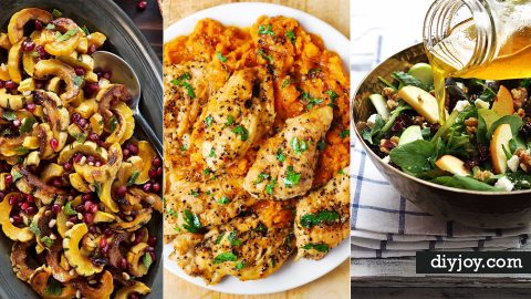 32 Easiest Thanksgiving Recipes Ever | DIY Joy Projects and Crafts Ideas