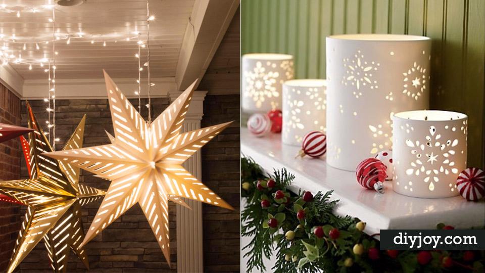 DIY Christmas Luminaries And Home Decor For The Holidays   Cool Candle  Holders, Tea Lights