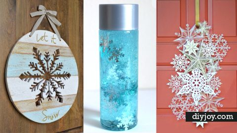 31 Creative DIY Projects With Snowflakes | DIY Joy Projects and Crafts Ideas