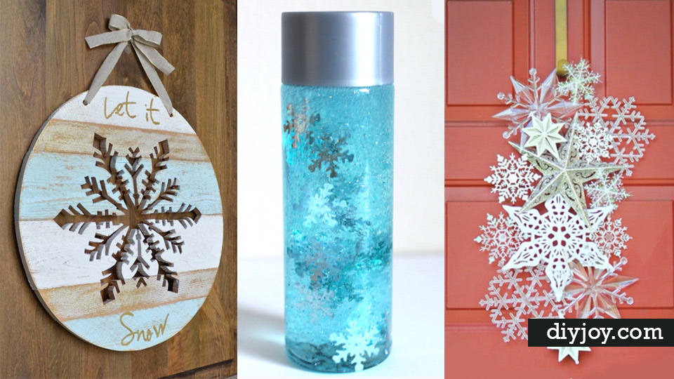 Best Diy Snowflake Decorations Ornaments And Crafts Paper Crafts
