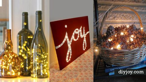31 Impressive Ways To Use Your Christmas Lights   DIY Joy Projects and Crafts Ideas