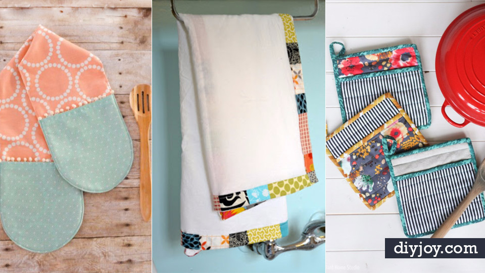 DIY Sewing Projects for the Kitchen - Easy Sewing Tutorials and ...