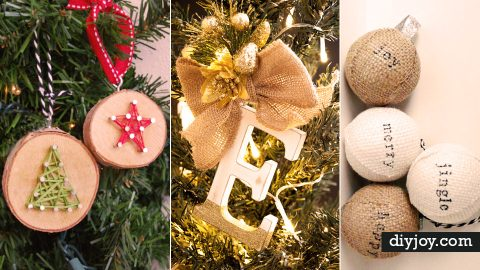 33 Best DIY Ornaments for Your Tree | DIY Joy Projects and Crafts Ideas