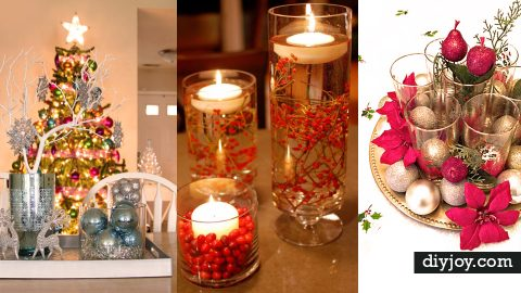 34 Diy Christmas Centerpieces For Holiday Decor Ideas