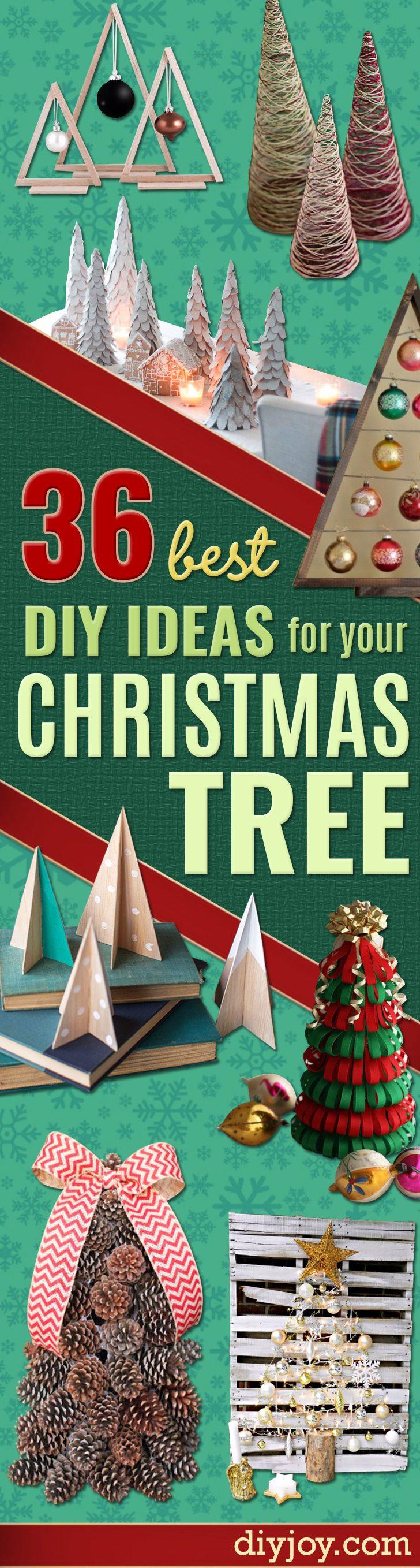 36 DIY Ideas For A Christmas Tree