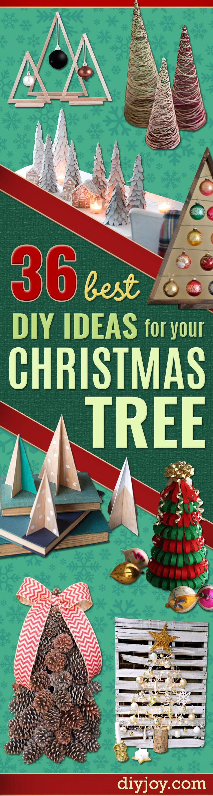 Cheap Christmas Decor Ideas - Best DIY Ideas for Your Christmas Tree - Cool Handmade Ornaments, DIY Decorating Ideas and Ornament Tutorials - Creative Ways To Decorate Trees on A Budget - Cheap Christmas Home Decor - Xmas Crafts #christmas #diy #crafts