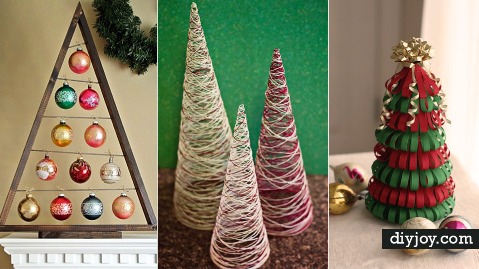 36 best diy ideas for a christmas tree