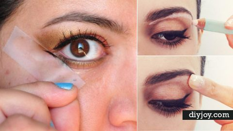 36 Cool Makeup Hacks   DIY Joy Projects and Crafts Ideas