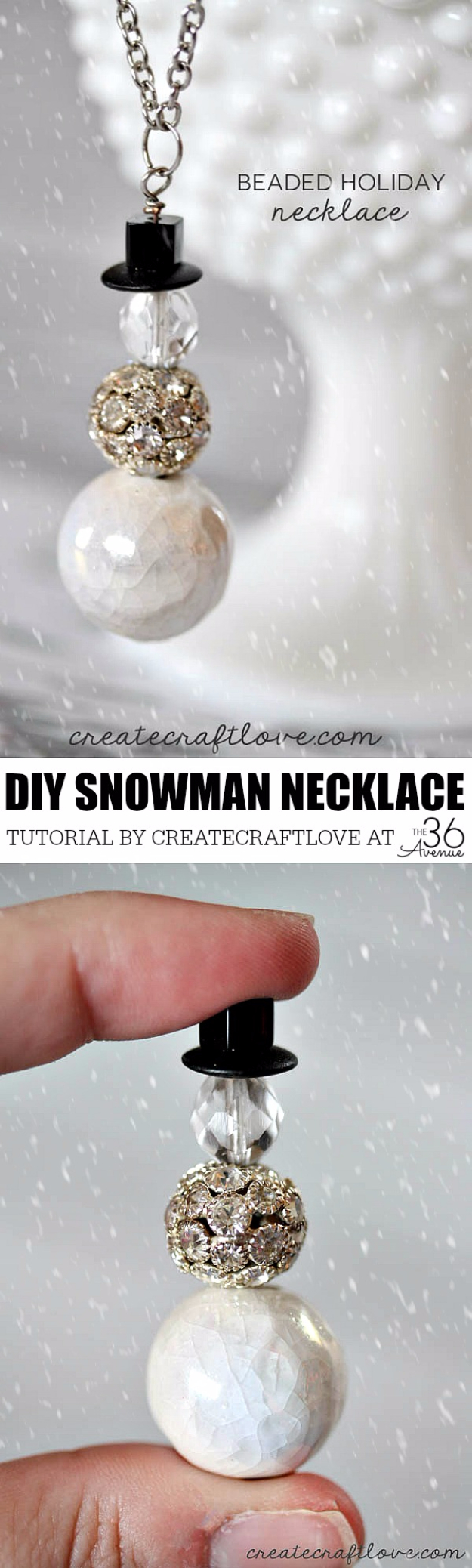 Best DIY Ideas for Wintertime - Beaded Holiday Necklace - Winter Crafts with Snowflakes, Icicle Art and Projects, Wreaths, Woodland and Winter Wonderland Decor, Mason Jars and Dollar Store Ideas - Easy DIY Ideas to Decorate Home and Room for Winter - Creative Home Decor and Room Decorations for Adults, Teens and Kids #diy #winter #crafts