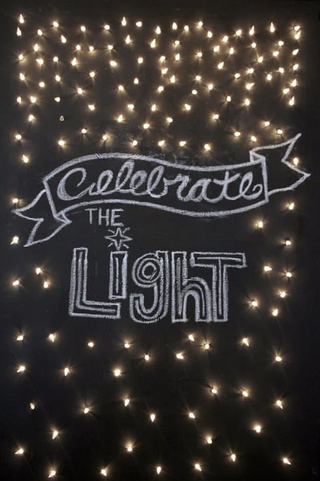 31 Impressive Ways To Use Your Christmas Lights - DIY Joy