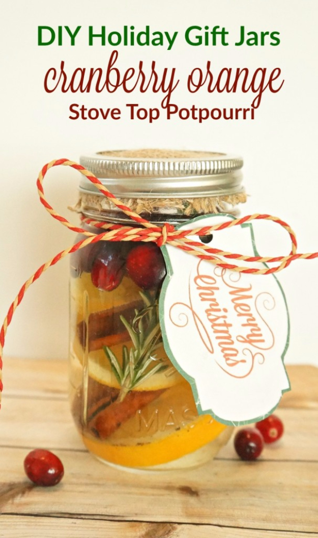 Best DIY Ideas for Wintertime - Cranberry Orange Stove Top Potpourri - Winter Crafts with Snowflakes, Icicle Art and Projects, Wreaths, Woodland and Winter Wonderland Decor, Mason Jars and Dollar Store Ideas - Easy DIY Ideas to Decorate Home and Room for Winter - Creative Home Decor and Room Decorations for Adults, Teens and Kids #diy #winter #crafts