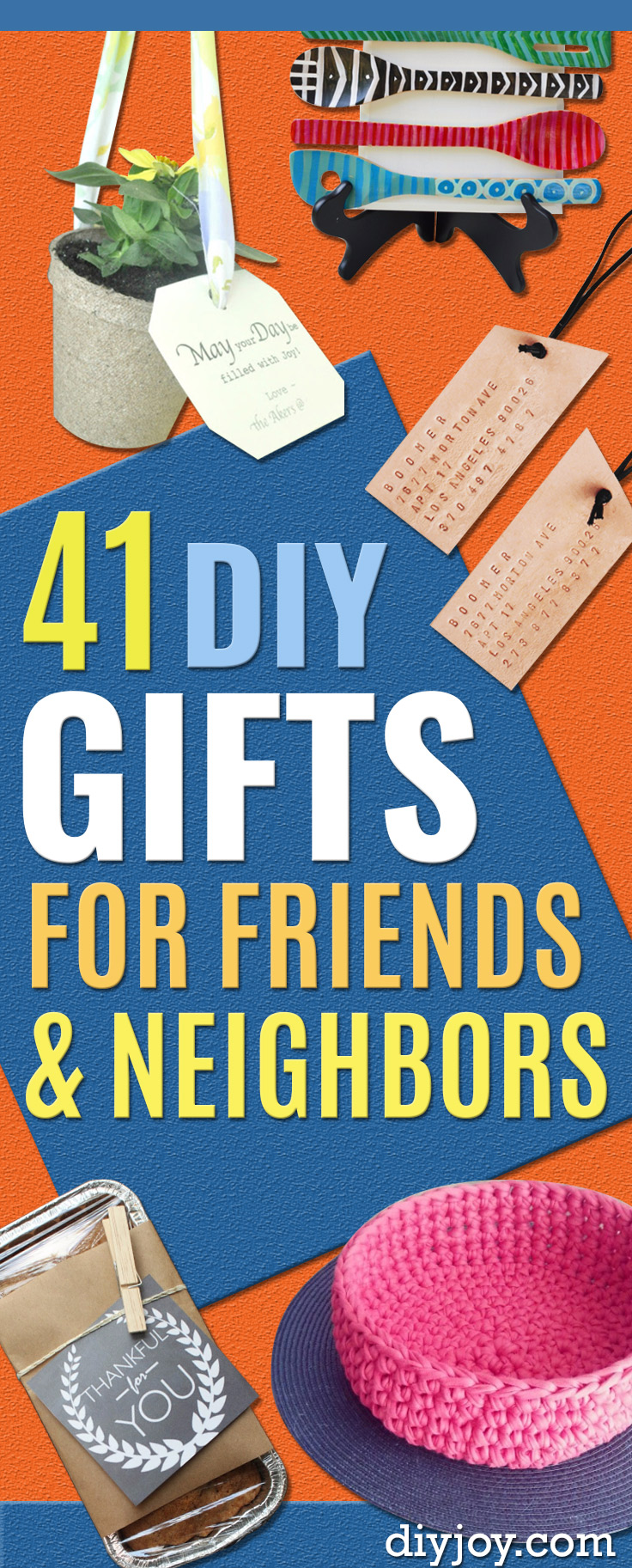 DIY Gifts - Pinterest Ideas to Make for Friends and Neighbors - Creative, Thoughtful Handmade DYI Gifts