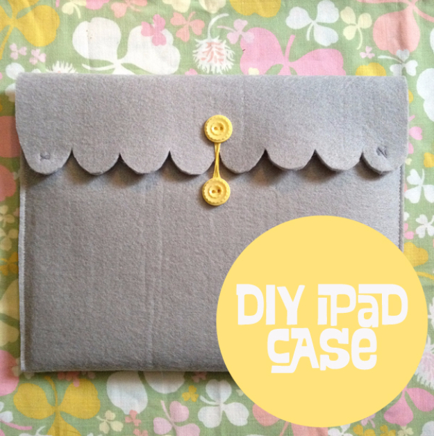 DIY Gift for the Office - DIY Ipad Case - DIY Gift Ideas for Your Boss and Coworkers - Cheap and Quick Presents to Make for Office Parties, Secret Santa Gifts - Cool Mason Jar Ideas, Creative Gift Baskets and Easy Office Christmas Presents