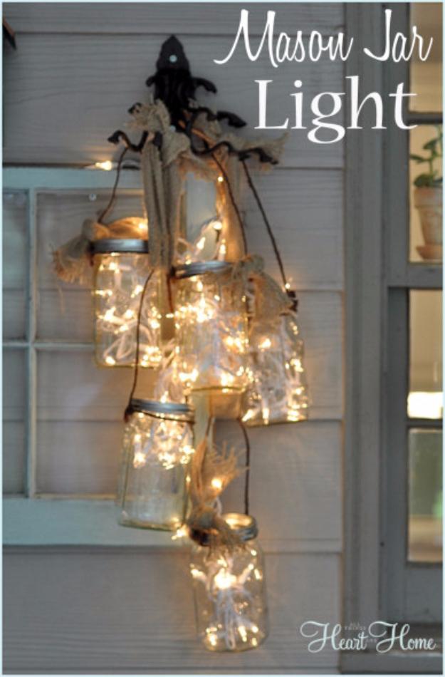 31 impressive ways to use your christmas lights page 5 of 6 cool ways to use christmas lights diy mason jar light best easy diy ideas aloadofball Choice Image