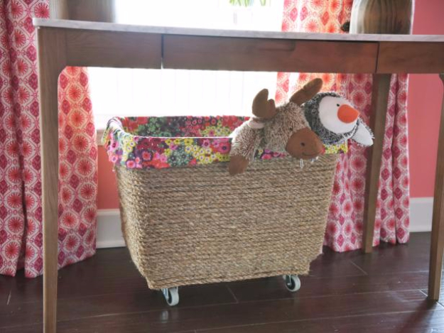 Creative Crafts Made With Baskets - DIY Storage Bin - DIY Storage and Organizing Ideas, Gift Basket Ideas, Best DIY Christmas Presents and Holiday Gifts, Room and Home Decor with Step by Step Tutorials - Easy DIY Ideas and Dollar Store Crafts #crafts #diy