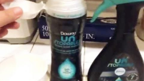 Watch How She Cleverly Makes Room/Linen Freshener With Downey Unstoppables (Cheap) | DIY Joy Projects and Crafts Ideas