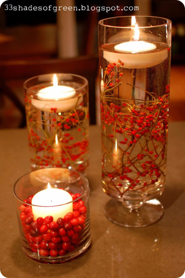 DIY Christmas Centerpieces - Easy Holiday Centerpiece - Simple, Easy Holiday Decorating Ideas on A Budget- cheap dollar store crafts holiday #holiday #crafts #christmas