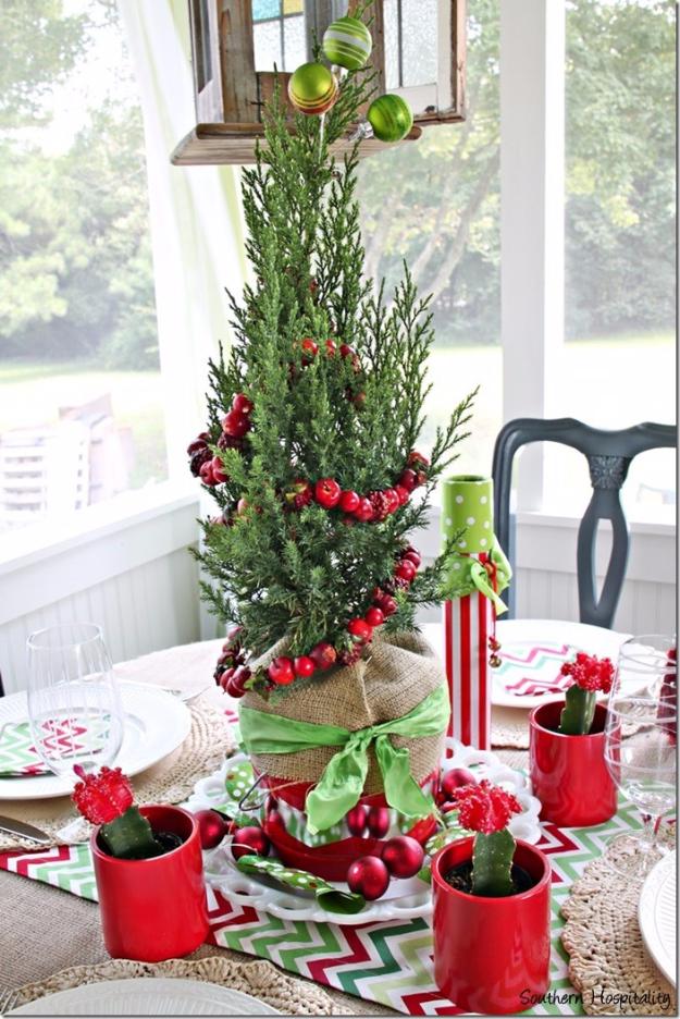 Craft Ideas For Christmas Centerpieces.34 Creative Christmas Centerpieces