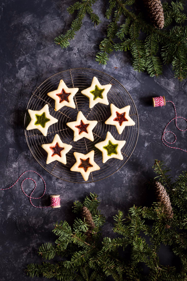 Best Recipes for Christmas Cookies- Gluten Free Stained Glass Cookies - Easy Decorated Holiday Cookies - Candy Cookie Recipes Ideas for Kids - Traditional Favorites and Gluten Free and Healthy Versions - Quick No Bake Cookies and Last Minute Desserts for the Holidays