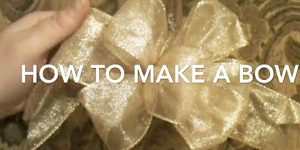 He Shows You How To Make Beautiful Bows Every Time!