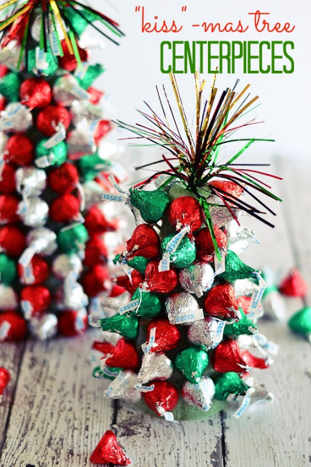 Creative christmas centerpieces