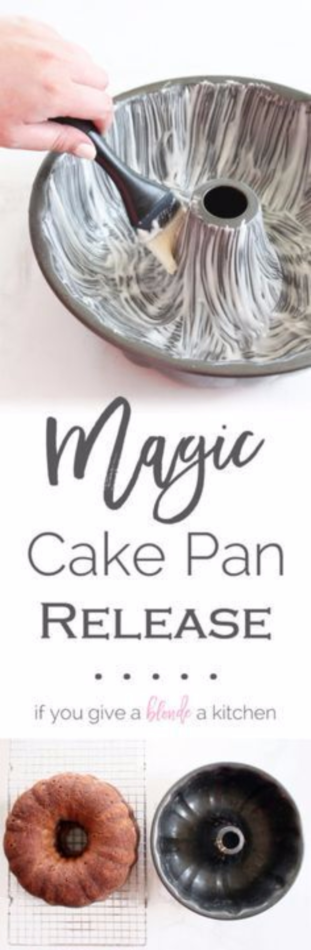 Best Baking Hacks - Magic Cake Pan Release - DIY Cooking Tips and Tricks for Baking Recipes - Quick Ways to Bake Cake, Cupcakes, Desserts and Cookies - Kitchen Lifehacks for Bakers http://diyjoy.com/baking-hacks