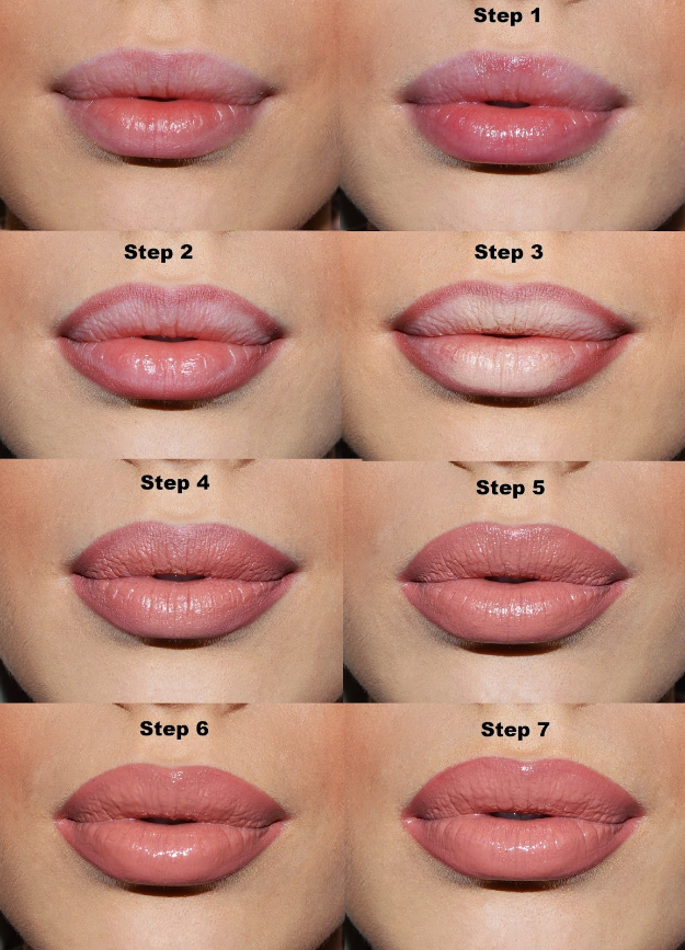 Cool DIY Makeup Hacks for Quick and Easy Beauty Ideas - Make Your Lips Look Fuller And Bigger - How To Fix Broken Makeup, Tips and Tricks for Mascara and Eye Liner, Lipstick and Foundation Tutorials - Fast Do It Yourself Beauty Projects for Women http://diyjoy.com/makeup-hacks