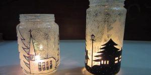 She Makes Beautiful Luminaries For Fabulous Christmas Room Decor (Watch!)