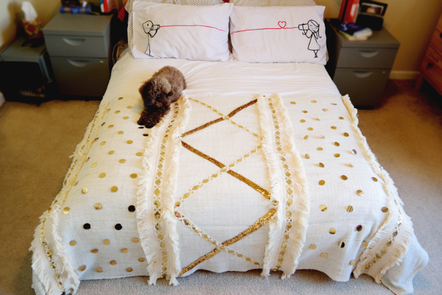 DIY Blankets and Throws - Moroccan Wedding Blanket DIY - How To Make Easy Home Decor and Warm Covers for Women, Kids, Teens and Adults - Fleece, Knit, No Sew and Easy Projects to Make for Bed and Sofa