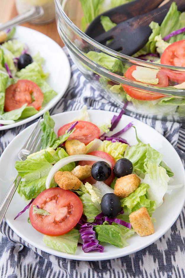 olive garden salad copycat diy joy - How To Make Olive Garden Salad