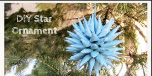 Watch How She Makes This Super Cool Polish Star Ornament!