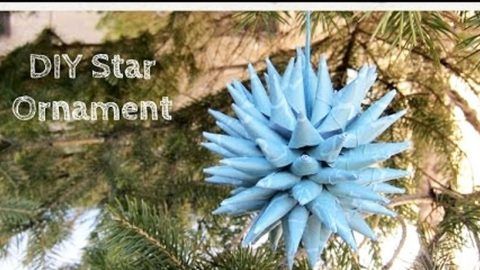 Watch How She Makes This Super Cool Polish Star Ornament! | DIY Joy Projects and Crafts Ideas