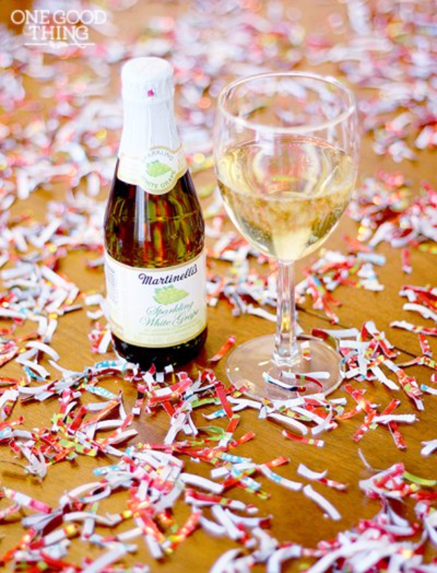 Cool Things to Make With Leftover Wrapping Paper - Party Confetti - Easy Crafts, Fun DIY Projects, Gifts and DIY Home Decor Ideas - Don't Trash The Christmas Wrapping Paper and Learn How To Make These Awesome Ideas Instead - Step by Step Tutorials With Instructions