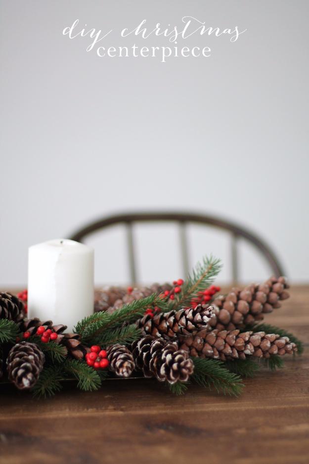 Creative christmas centerpieces
