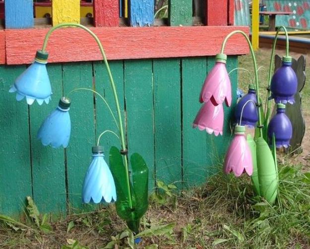 Cool DIY Projects Made With Plastic Bottles - Plastic Bottle Flowers - Best Easy Crafts and DIY Ideas Made With A Recycled Plastic Bottle - Jewlery, Home Decor, Planters, Craft Project Tutorials - Cheap Ways to Decorate and Creative DIY Gifts for Christmas Holidays - Fun Projects for Adults, Teens and Kids