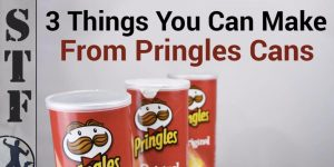 Watch The Super Cool Things He Makes With These Pringles Cans!