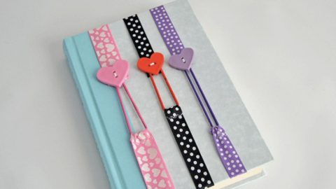 DIY Ribbon Bookmarks | DIY Joy Projects and Crafts Ideas