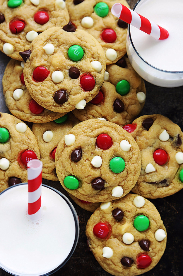 Best Recipes for Christmas Cookies- Santa's Cookies - Easy Decorated Holiday Cookies - Candy Cookie Recipes Ideas for Kids - Traditional Favorites and Gluten Free and Healthy Versions - Quick No Bake Cookies and Last Minute Desserts for the Holidays
