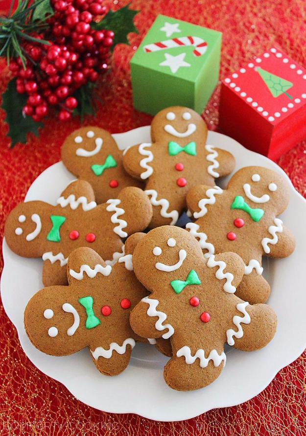 Best Recipes for Christmas Cookies- Spiced Gingerbread Man Cookies - Easy Decorated Holiday Cookies - Candy Cookie Recipes Ideas for Kids - Traditional Favorites and Gluten Free and Healthy Versions - Quick No Bake Cookies and Last Minute Desserts for the Holidays